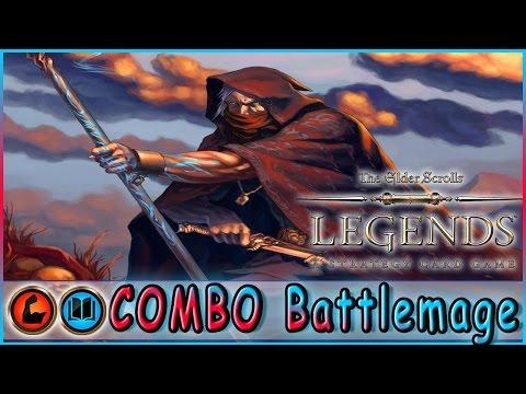 TES LEGENDS | COMBO Battlemage Strength Intelligence Deck | Constructed | The Elder Scrolls