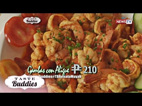 Taste Buddies: Learn how to make Gambas con Aligue