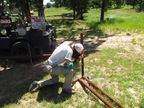 Pipe Fence Building made easy
