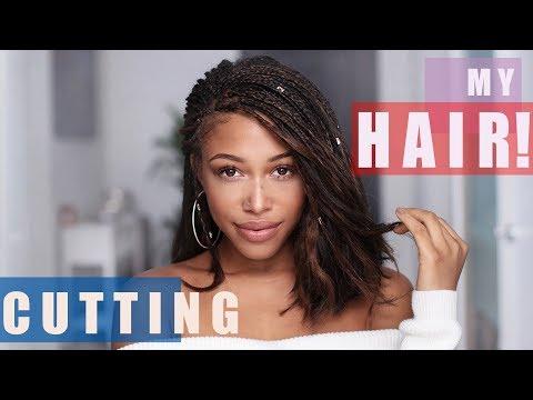 Cutting My Hair into a BOB! | Jaleesa Moses