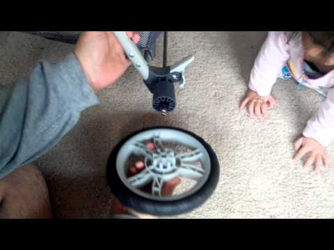 Graco Stroller Back wheel cannot be secured