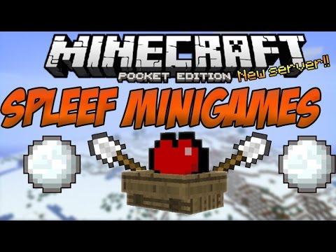 Minigame Mondays Spleef w/ blockotroN