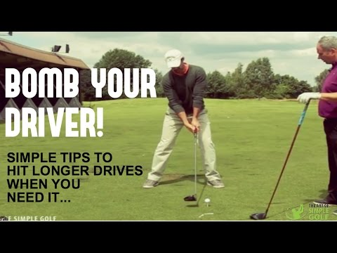 How To Hit Longer Drives And Bomb It: Simple Tips To Hit The Driver Longer On Tap