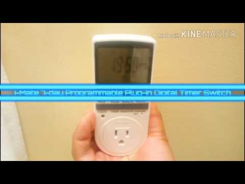 Quick Look: i-Mate 7-day Programmable Plug-in Digital Timer Switch