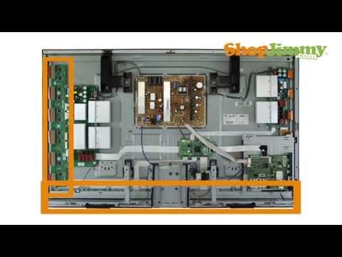 Samsung Plasma TV Repair Tutorial - Identifying Samsung Plasma TV Parts - How to Fix Plasma TVs