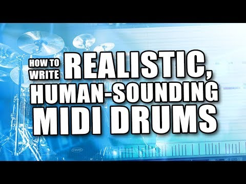 Realistic MIDI Drums with Cubase [Music Production Tutorial]