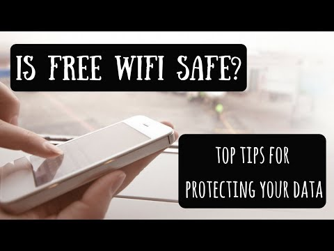 Using Free Public Wifi While Traveling | How to Avoid Identity & Data Theft