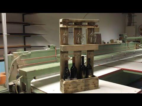 How To Build: Pallet Wine Rack