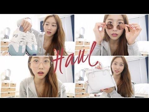 LA Haul! Glasses, bags, & shoes! Ray-ban, Y-3, Maison Margiela, Golden Goose, etc,..