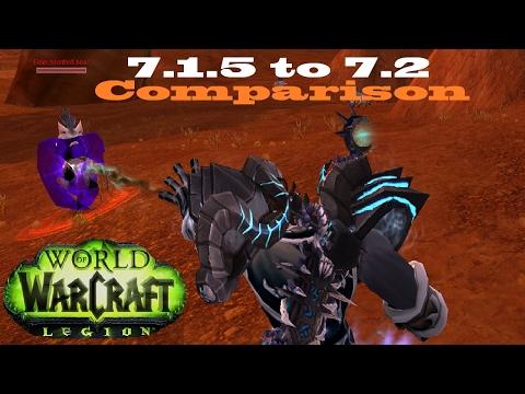7.2 Death Knight Animation Comparison - Death Grip Slower? - Talk (PTR)