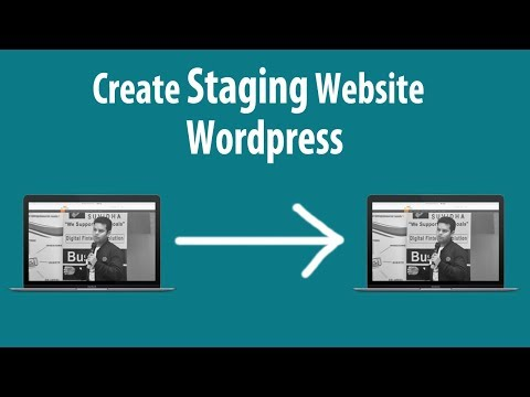 Easily Setup Your Own Testing Website in WordPress | Setup Staging Environment