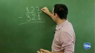 Segredinho da conta de subtração (como fazer conta de matemática)