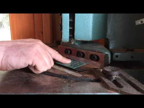 Cutting a Printed Circuit Board with a Sheet Metal Notcher - Video #002