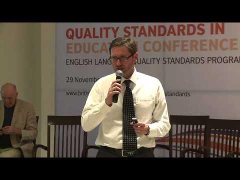 Quality Standards: J Shakleton & K Morrow on assessing teacher competence