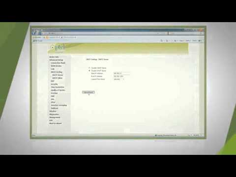 LAN Settings in PTCL Tenda W150D Modem on Vimeo clip10