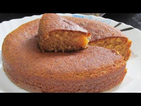 Basic Eggless Sponge Cake | Eggless Vanilla Cake | Step by Step Recipe