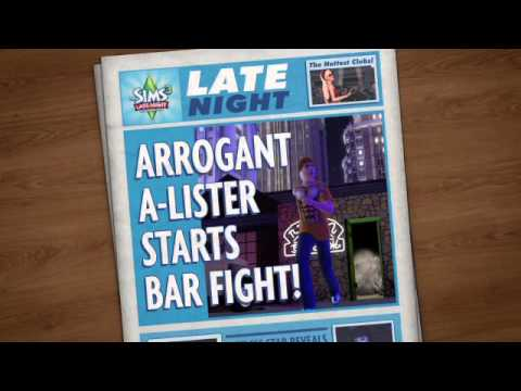 The Sims 3 Late Night trailer