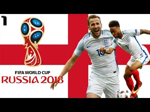 FIFA 18 WORLD CUP w/ENGLAND #1 | CAN ENGLAND WIN WORLD CUP? | ft. KANE RASHFORD VARDY STERLING