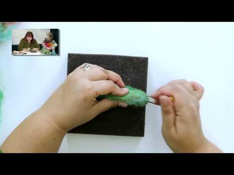 DIY Create a Needle Felted Hummingbird