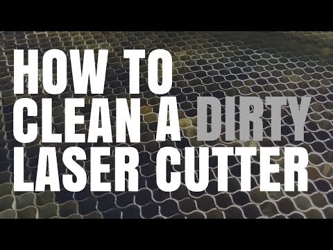 How to Clean A Laser Engraving/Cutting Machine Bed