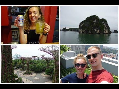 SINGAPORE, HANOI AND HA LONG BAY | VLOG #2