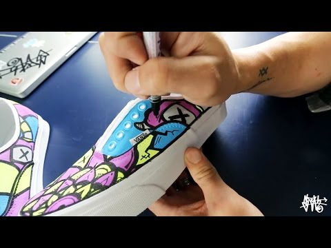 How I Make Custom Vans Shoes