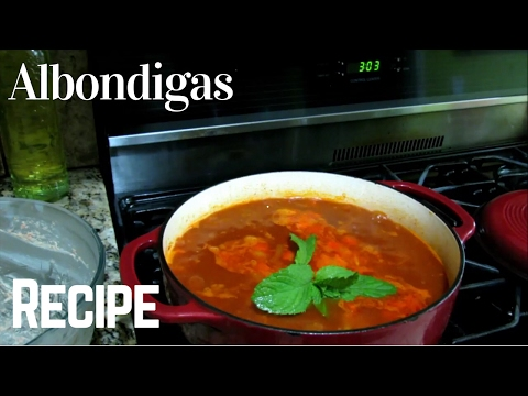 CHIPOTLE MEATBALL SOUP - Authentic mexican food