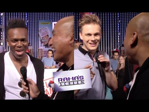 LAID IN AMERICA Red Carpet Interviews With KSI And Caspar Lee