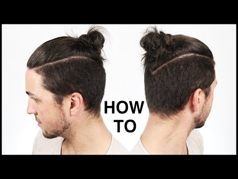 How To Tie The Perfect Man Bun/Top Knot - Men's Hairstyle Ideas