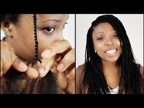 Senegalese Twist START TO FINISH In 5 Minutes!!!