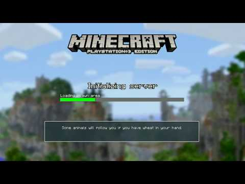 MINECRAFT PS3 EDITION BEST SEED EVER!!!