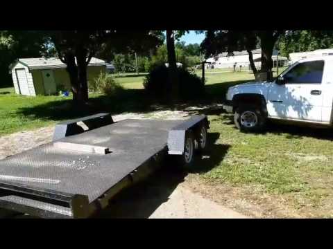 Homemade trailer tounge box part