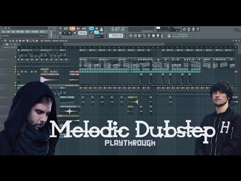 Melodic Dubstep Playthrough | Virtual Riot/Seven Lions Chords | FL Studio 12