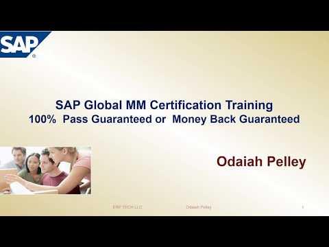 SAP MM Certification
