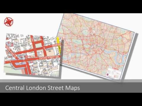 Buy London Postcode District and Sector Maps - Map-Logic