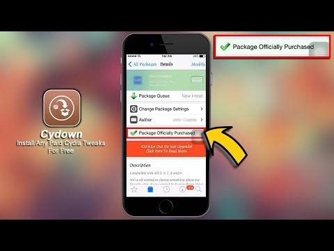 Cydown iOS 10 How To Install Any Paid Cydia Tweaks For Free iOS 10 Jailbreak - Repo On Desc
