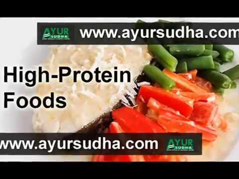 Protein rich Foods   for weight loss - AYUR SUDHA Best Ayurvedic Centre in India.