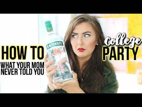 The REAL Truth About College Parties and Being Safe || Sarah Belle
