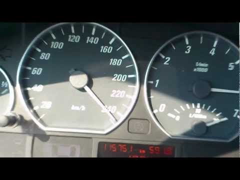 BMW 330CI E46  60-250 Km/h