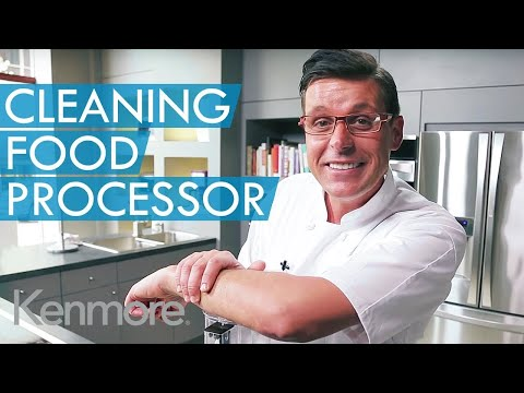 Food Processor - Less Cleaning With This Cool Tip