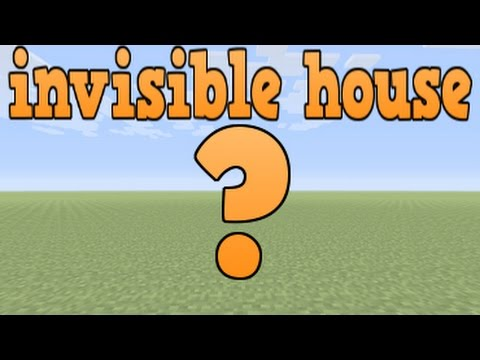 Minecraft Xbox ONE PS4 & Wii U - Absolutely invisible House glitch!!!