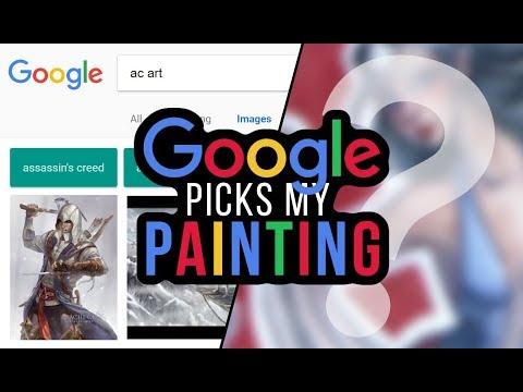 GOOGLE PICKS MY PAINTING | Secret Project & Collab with Monique Renee Art!