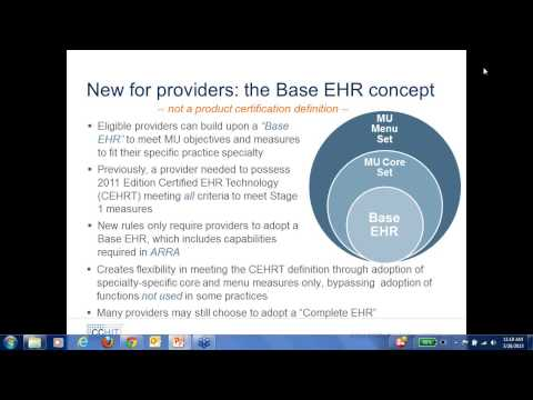 What's New in EHR Testing and Certification?