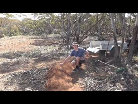 Building a Mountain Bike berm