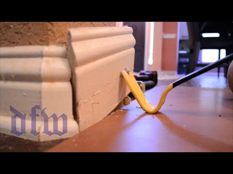 Trick to Remove Baseboard