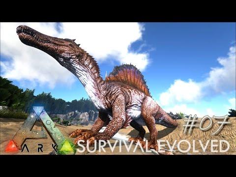 ARK: Survival Evolved Ep 07 - INSANE SPINO TAMING !!! (Server Gameplay)