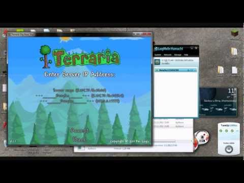 Jak spustit hamachi terraria server (warez) [HD]