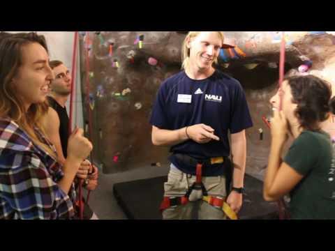 NAU Climbing Wall: Belay Clinic