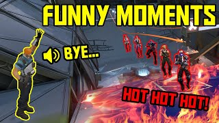 FUNNIEST MOMENTS IN VALORANT #58...