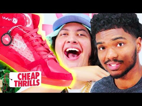 D.I.Y. Pizza Hut Pie Tops II w/ Victor Pope Jr. | Cheap Thrills